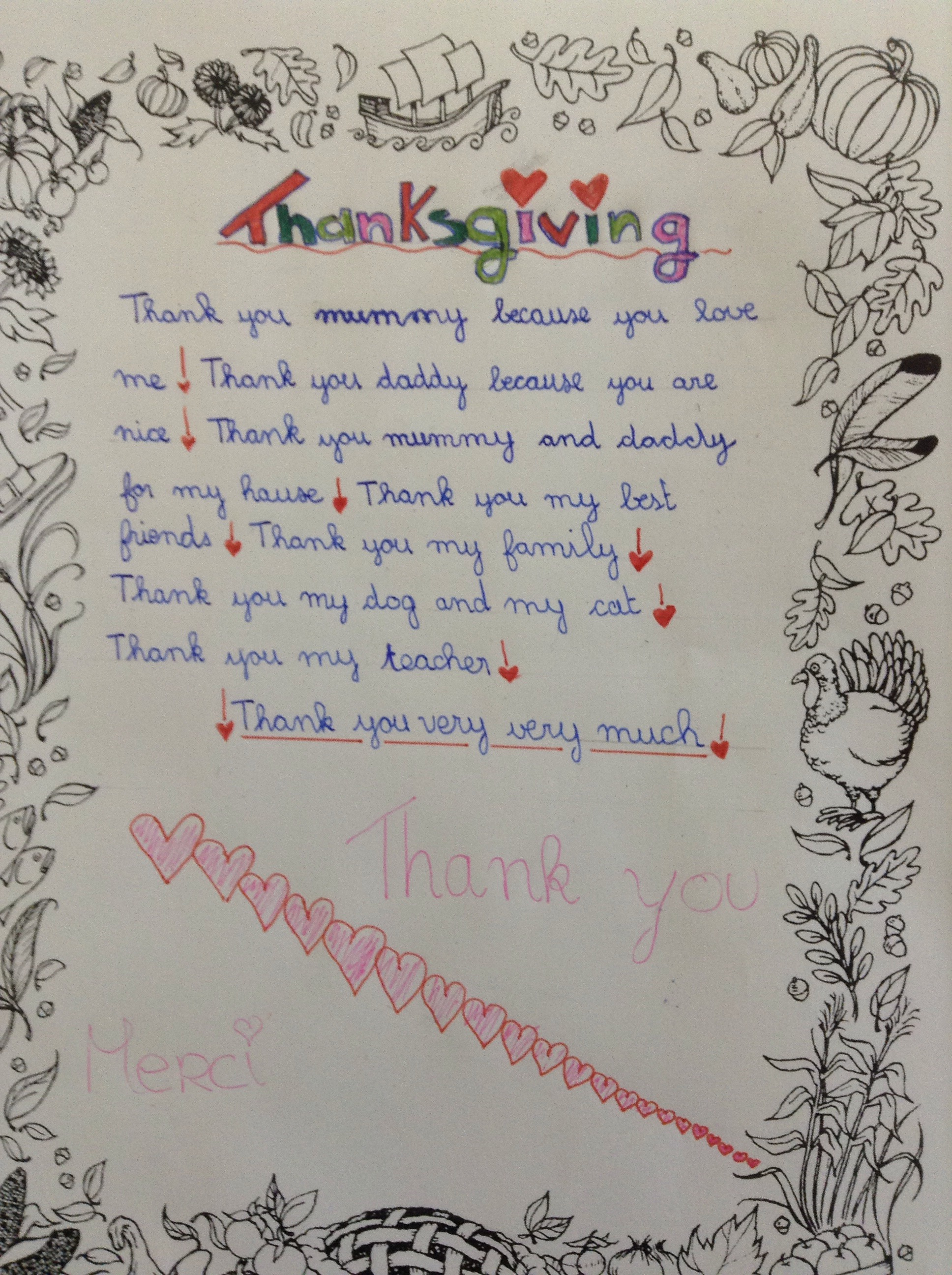 Thanksgiving A Time For Giving Thanks Fab English Ideas